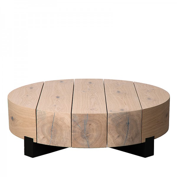 Charrell - COFFEE TABLE ASRA - 100 x 100 H 30 CM (image 1)