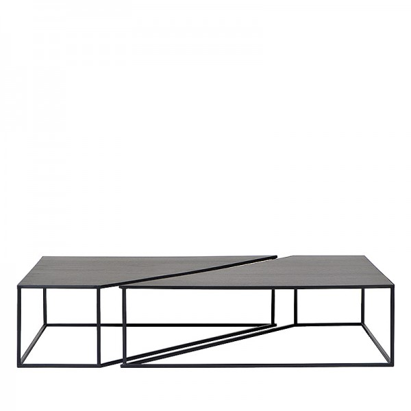 Charrell - COFFEE TABLE BRO S/2 - 150 X 100 H 35 CM (image 1)