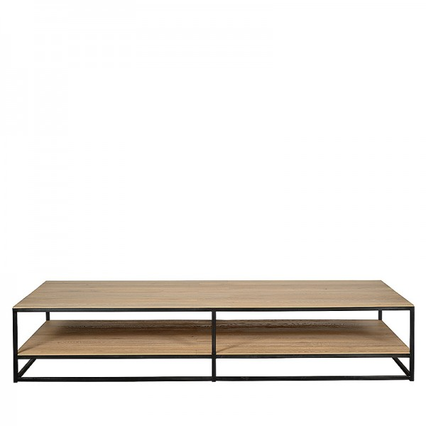 Charrell - COFFEE TABLE DOUBLE DECK 200/100 - 200 X 100 - H 38 CM (image 1)