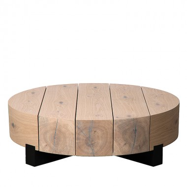 Charrell - COFFEE TABLE ASRA - 100 x 100 H 30 CM