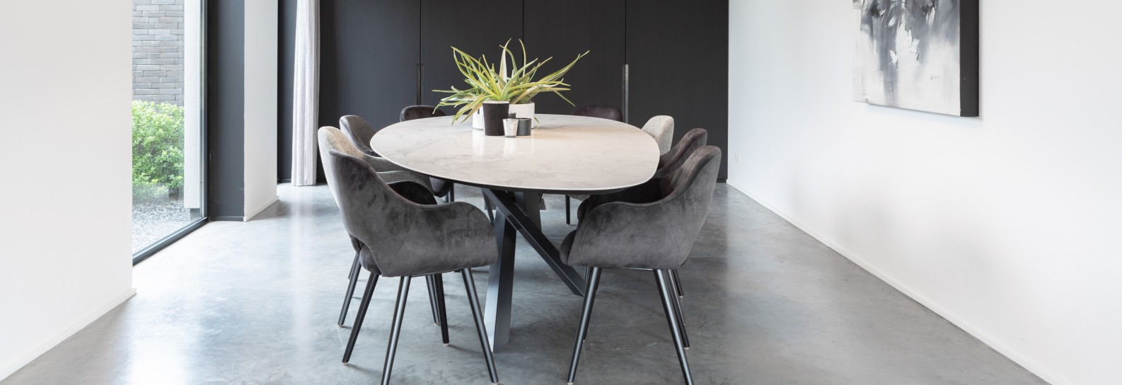 Keramische Madrid tafel