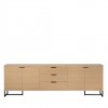 Charrell - SIDEBOARD MOXY 4D/3DR - 250 X 40 H 80 CM (image 1)