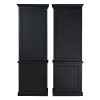 Charrell - BOOKCASE CORBY 80 - DOOR LEFT/RIGHT - 80 X 40 H 235 CM (image 4)