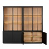 Charrell - CABINET MEZZO 4 PARTS 240 ALL GLASS - 240 X 50 - H 225 CM (image 2)