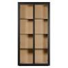 Charrell - CABINET LEXON 115 - IRON DOORS - 115 X 40 - H 230 CM (image 1)