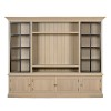 Charrell - TV CABINET LANDSCAPE WALL - IRON DOORS - 250 X 51 - H 215 CM (image 2)