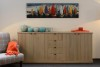 Charrell - SIDEBOARD LANCASTER 240 - 4D/ 4 DRAWERS - 240 X 45 - H 95 CM (image 2)