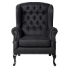Charrell - FAUTEUIL WELLINGTON WITH BUTTONS - 83 X 90 - H 107 CM (image 2)