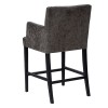 Charrell - ARMCHAIR ARAGON COUNTER H65 - 60 X 60 - H 105 CM (image 2)