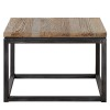 Charrell - SIDE TABLE VINTAGE - 65 X 65 - H 45 CM (image 1)