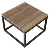 Charrell - SIDE TABLE VINTAGE - 65 X 65 - H 45 CM (image 3)