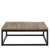 Charrell - COFFEE TABLE VINTAGE 100/100 - 100 X 100 - H 38 CM (image 1)
