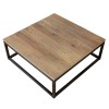 Charrell - COFFEE TABLE VINTAGE 100/100 - 100 X 100 - H 38 CM (image 3)