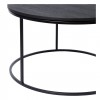 Charrell - COFFEE TABLE TODD - SINGLE - DIA 60 - H 35 CM (image 2)