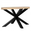 Charrell - DINING TABLE ARTHUR - 130 X 130 - H 76 CM (image 3)