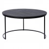 Charrell - COFFEE TABLE TODD - OPEN - DIA 80 - H 44 CM (image 1)