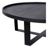Charrell - COFFEE TABLE DIABOLO - 90 X 90 - H 38 CM (image 2)