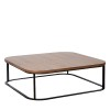 Charrell - COFFEE TABLE ZONA SQUARE - 90 X 90 H 35 CM (image 2)