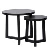 Charrell - SIDE TABLE CLOUD S/2 - 60/40 X 60/40 H 53/46 CM (image 1)