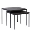 Charrell - SIDE TABLE DUO - 50X50H45/43X43H38 CM (image 3)