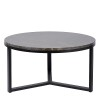 Charrell - SIDE TABLE SPLENDID-MARBLE TOP DIA 80 - DIA 80 H 42 CM (image 1)