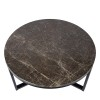 Charrell - SIDE TABLE SPLENDID-MARBLE TOP DIA 80 - DIA 80 H 42 CM (image 2)