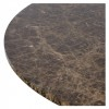 Charrell - DINING TABLE LISA DIA 140 - MARBLE - DIA 140 - H 76 CM (image 4)