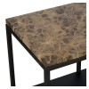 Charrell - CONSOLE MADISON 180/35 - MARBLE - 180 X 35 - H 75 CM (image 5)