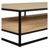 Charrell - COFFEE TABLE DOUBLE DECK 200/100 - 200 X 100 - H 38 CM (image 3)