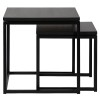 Charrell - SIDE TABLE FERRUM S/2 - 50-50-H50/40-40-H40 CM (image 1)
