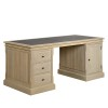 Charrell - DESK LANDSCAPE 175 - WITH LEATHER - 175 X 80 - H 78 CM (image 2)