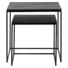 Charrell - SIDE TABLE FERRUM FINE S/2 - 50-50-H50/40-40-H40 CM (image 4)