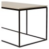 Charrell - COFFEE TABLE FERRUM FINE 140/40 - 140 X 40 - H 38 CM (image 2)