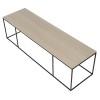 Charrell - COFFEE TABLE FERRUM FINE 140/40 - 140 X 40 - H 38 CM (image 3)