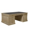Charrell - PARTNER DESK LANDSCAPE 200 WITH LEATHER - 200 X 115 - H 78 CM (image 2)