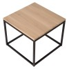 Charrell - SIDE TABLE FERRUM - 55 X 55 - H 45 CM (image 3)