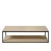 Charrell - COFFEE TABLE FERRUM 140/70 - DOUBLE - 140 X 70 - H 38 CM (image 1)