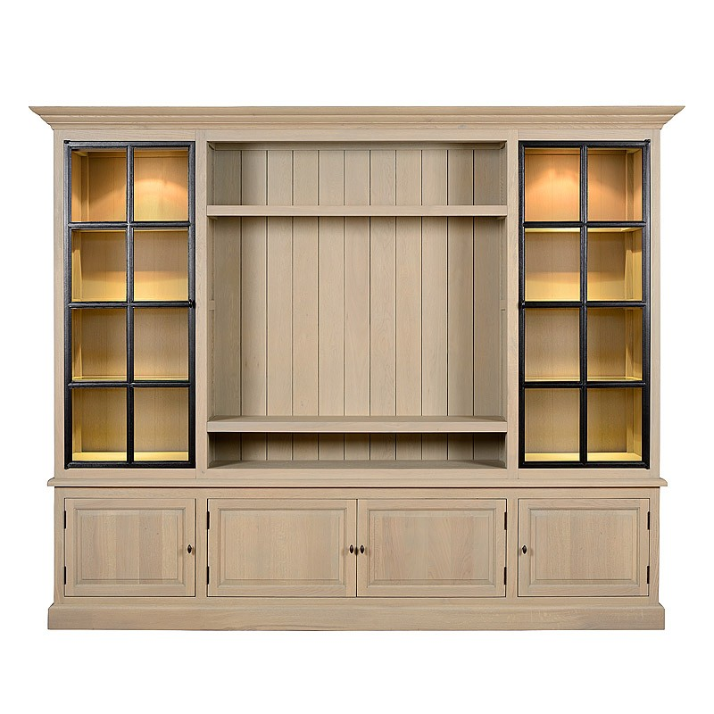 Tv Cabinet Landscape Wall Iron Doors Charrell