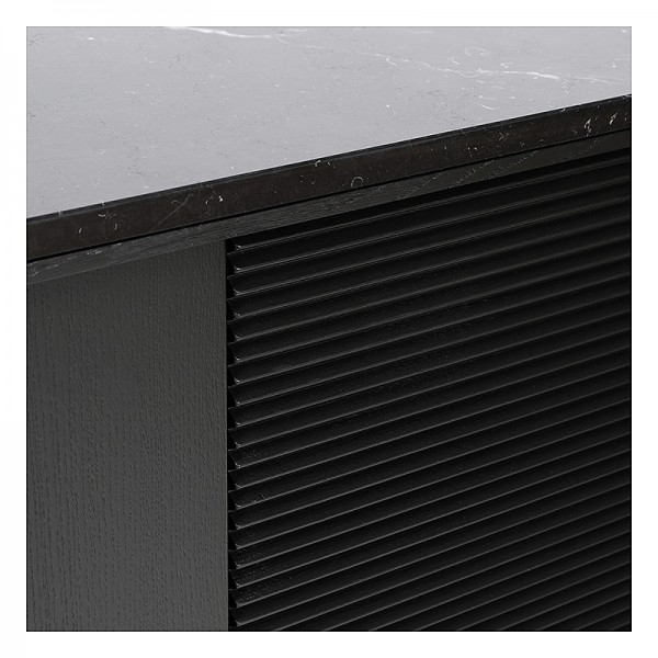 Charrell - SIDEBOARD BRIDGE - 4 DOORS - MARBLE - 240 X 45 H 75 CM (image 6)