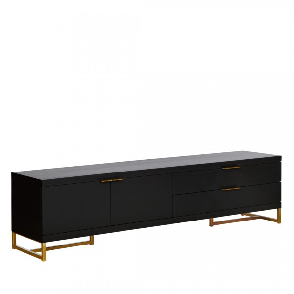 Charrell - TV CABINET MOXY 2D/2DR - 180 X 40 H 46 CM (image 2)