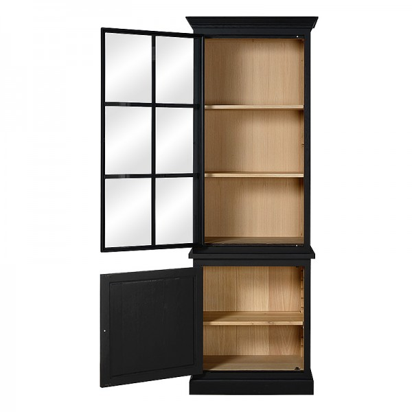 Charrell - BOOKCASE CORBY 80 - IRON DOOR - 80 X 40 H 235 CM (image 3)