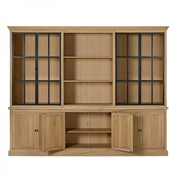 Charrell - CABINET CORBY 6 PARTS 290 - 290 X 51 - H 235 CM (image 2)