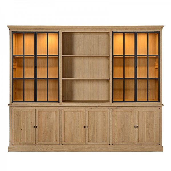 Charrell - CABINET CORBY 6 PARTS 290 - 290 X 51 - H 235 CM (image 3)