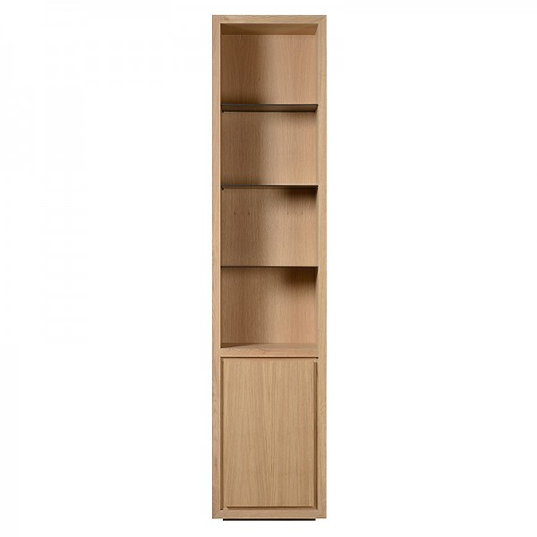 Charrell - BOOKCASE LEXON 55 OPEN-DOOR LEFT/RIGHT - 55 X 40 - H 245 CM (image 1)