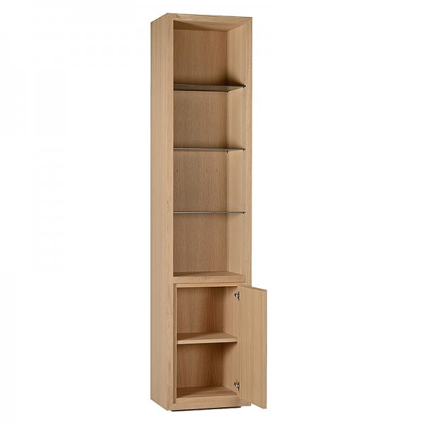 Charrell - BOOKCASE LEXON 55 OPEN-DOOR LEFT/RIGHT - 55 X 40 - H 245 CM (image 3)