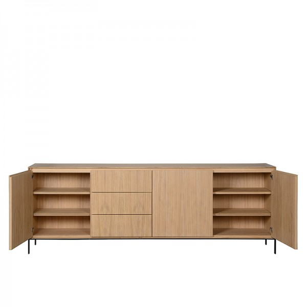 Charrell - SIDEBOARD VERSO 240 - 3D/3DR - 240 X 45 - H 85 CM (image 5)