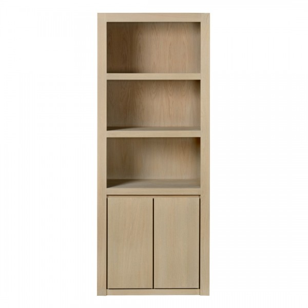 Charrell - BOOKCASE METRO OPEN 1 PART - 85 X 45 - H 220 CM (image 2)
