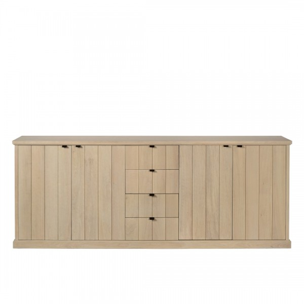 Charrell - SIDEBOARD LANCASTER 240 - 4D/ 4 DRAWERS - 240 X 45 - H 95 CM (image 1)