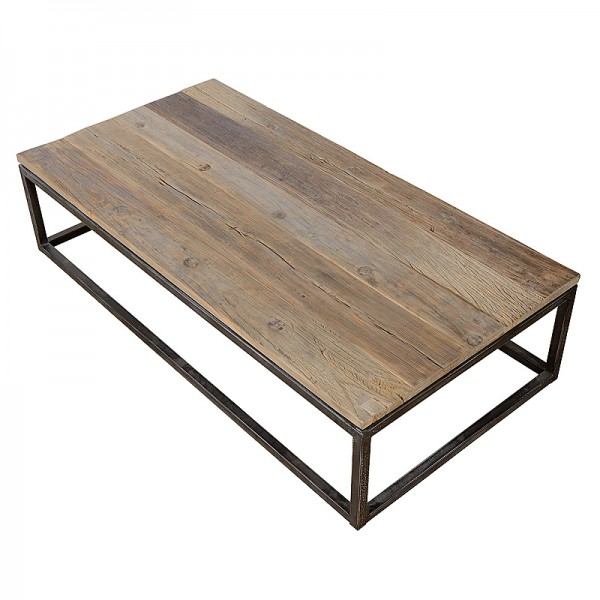 Charrell - COFFEE TABLE VINTAGE 160/80 - 160 X 80 - H 38 CM (image 3)