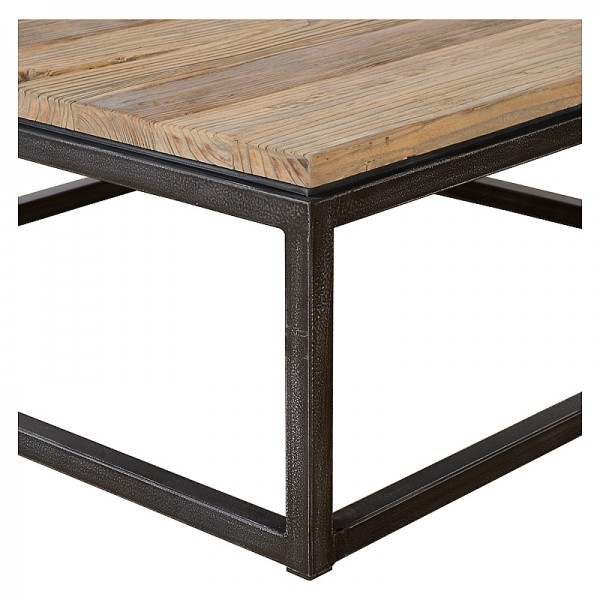 Charrell - COFFEE TABLE VINTAGE 100/100 - 100 X 100 - H 38 CM (image 2)